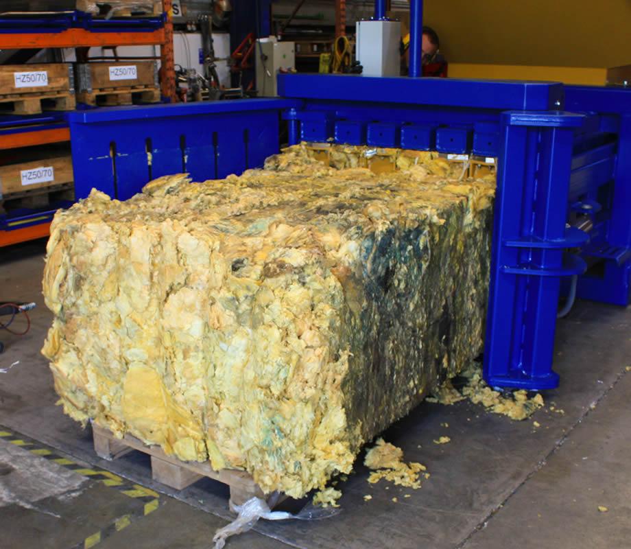 Balle de laine de roche 680 kgs.